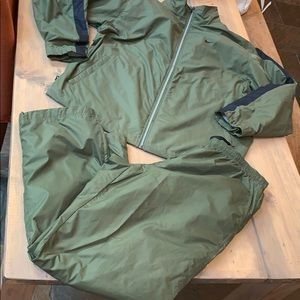 Men's Nike lined windbreaker jumpsuit